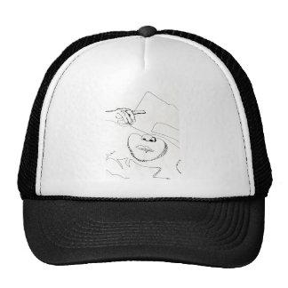 Samurai de papel gorras