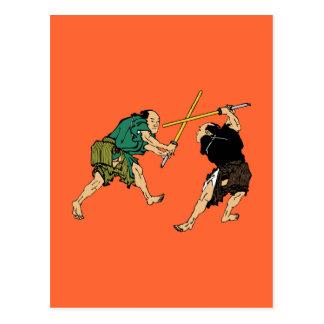 Samurai en duelo postal