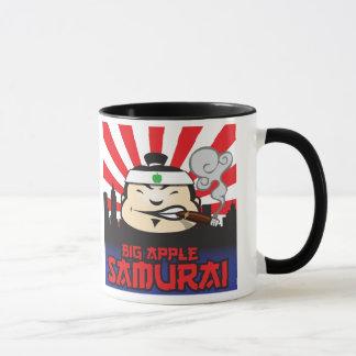 Samurai grande de Apple Taza