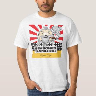 Samurai sazonado camiseta