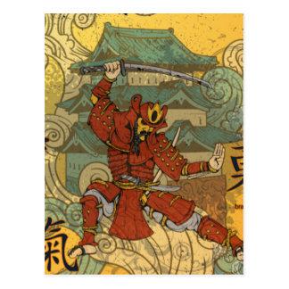 Samurai Tarjeta Postal