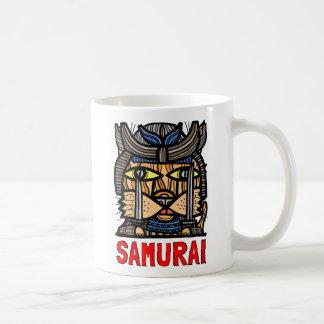 """Samurai"" taza de la obra clásica de 11 onzas"