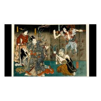 Samurai y fantasmas, circa tarjeta de visita 1800'