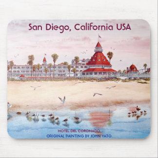 San Diego, California, CORONADO del HOTEL DEL Alfombrilla De Ratón