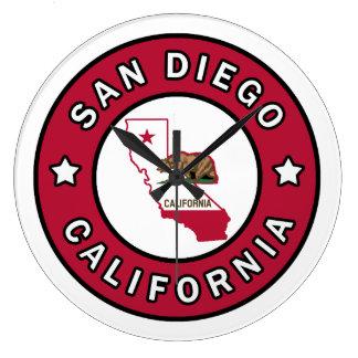 San Diego California Reloj Redondo Grande