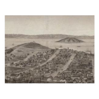 San Francisco, 1862 de la colina rusa Postal