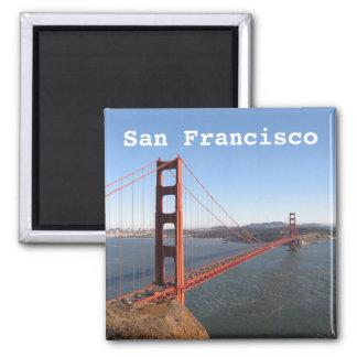 San Francisco CA, imán del refrigerador de puente