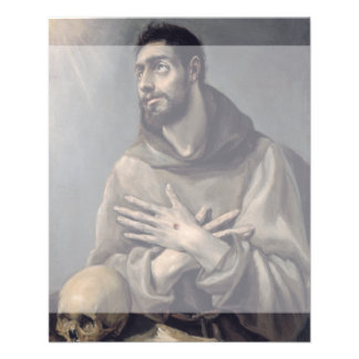 San Francisco de El Greco Folleto 11,4 X 14,2 Cm