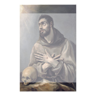San Francisco de El Greco Folleto 14 X 21,6 Cm