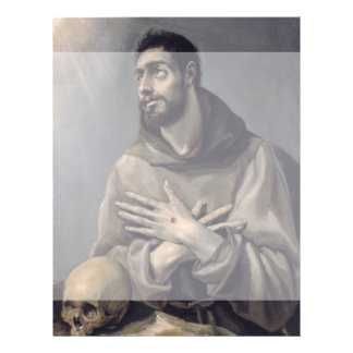 San Francisco de El Greco Folleto 21,6 X 28 Cm