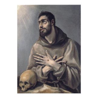 San Francisco de El Greco Invitación Personalizada