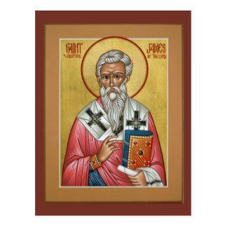San Jaime, Brother del señor Prayer Card Postal