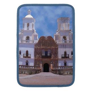 San Javier del Bac Mission - Tucson, AZ Fundas MacBook