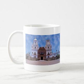 San Javier del Bac Mission - Tucson, AZ Taza De Café