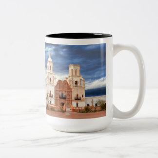 San Javier Del Bac Mug Taza Dos Tonos