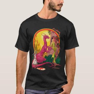 San Jorge y la camiseta de la oscuridad del dragón