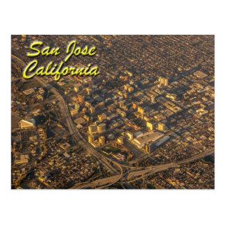 San Jose, California desde arriba Postal