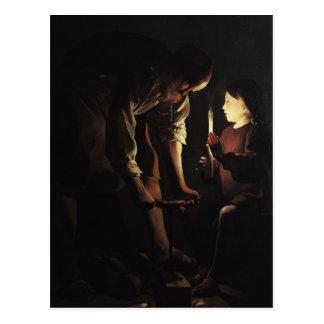 San José, el carpintero, c.1640 Tarjetas Postales