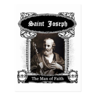 San José - el hombre de fe Postal