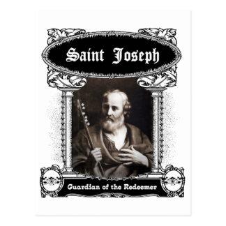 San José - guarda de la postal del redentor