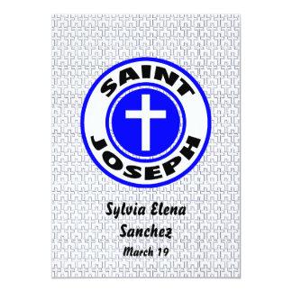 San José invita Invitación 12,7 X 17,8 Cm