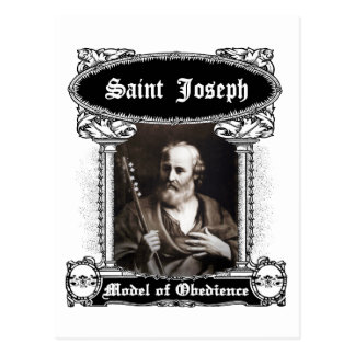 San José - modelo de la postal de la obediencia