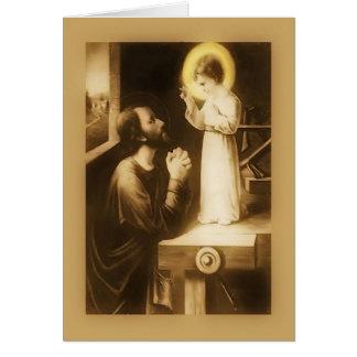 San José tarjeta de felicitación del día de