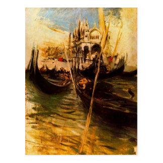 San-Marco en Venecia de Juan Boldini Postal