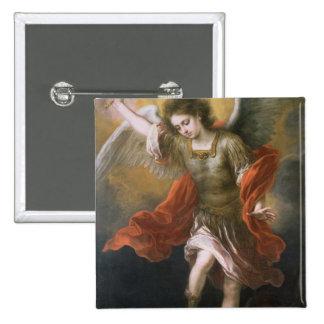 San Miguel banishes al diablo al abismo Pins