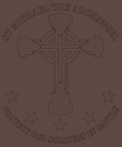 San Miguel el arcángel - plantilla blanca Camiseta