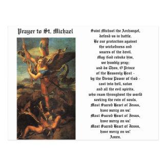 San Miguel el arcángel Postal