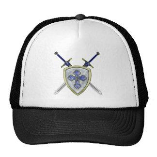 San Miguel - espadas y escudo Gorro