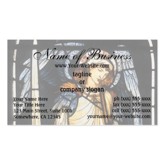 San Miguel (vitral) por Burne Jones Tarjetas De Visita