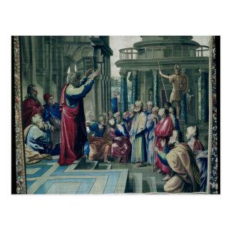 San Pablo que predica en el Areopagus Postal