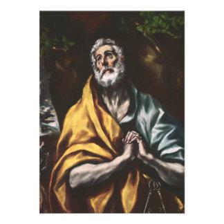 San Pedro arrepentido de El Greco Anuncio
