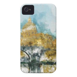 San Pedro en la Ciudad del Vaticano Roma Italia Funda Para iPhone 4 De Case-Mate