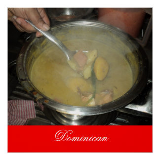 Sancocho que es hecho en Santo Domingo, Dominican… Póster