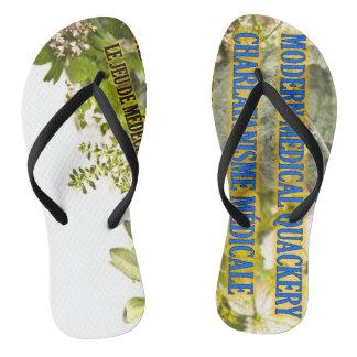 Sandalias adultas de encargo del flip-flop del