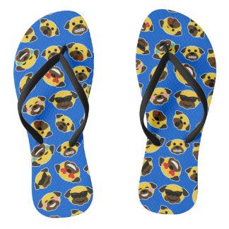 Sandalias de Emojis de los Emoticons del barro