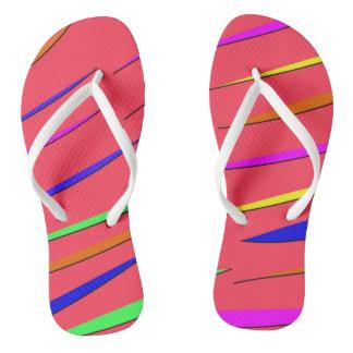Sandalias de neón