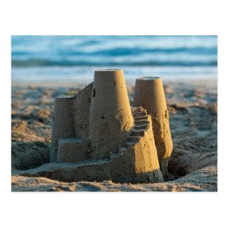 Sandcastle postcard postal