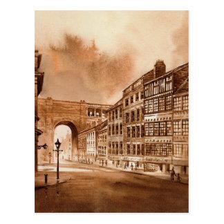 Sandhill Newcastle sobre la postal de Tyne