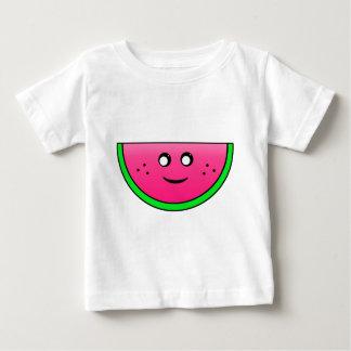 sandía camiseta para bebé
