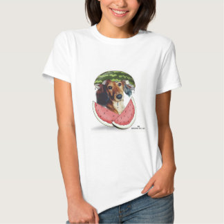 Sandía de Waddleful Camisetas