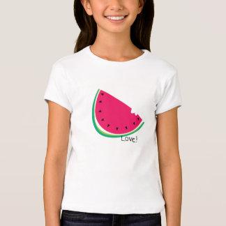 Sandía del amor camisetas