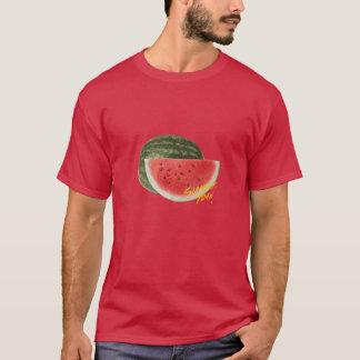 Sandía del tiempo del verano camiseta