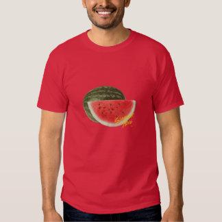 Sandía del tiempo del verano camisetas