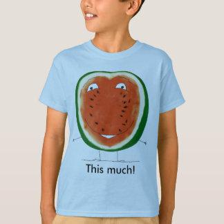 ¡sandía, este mucha! camiseta