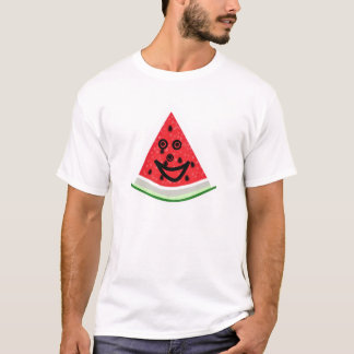 Sandía feliz camiseta