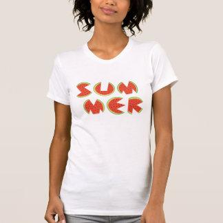 Sandía fresca linda del verano camisetas
